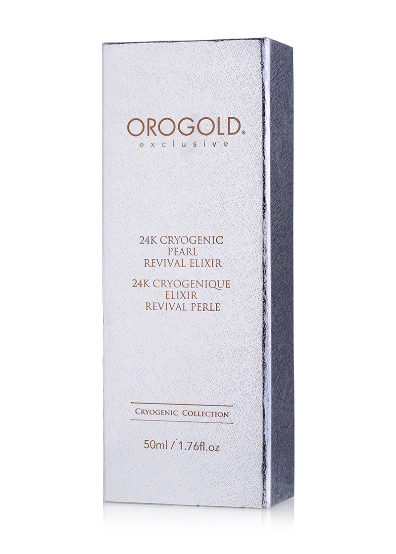 OROGOLD Exclusive 24K Cryogenic Pearl Revival Elixir